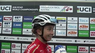 VM 2018: Cecilie Uttrup om linjeløbet