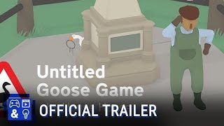 Untitled Goose Game Gameplay Trailer Video