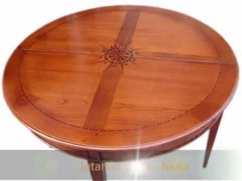 Tavoli A Consolle Arte Povera.Tavolo Tavoli A Consolle Classici Arte Povera In Stile Tavolino Demilune Apribile Allungabile