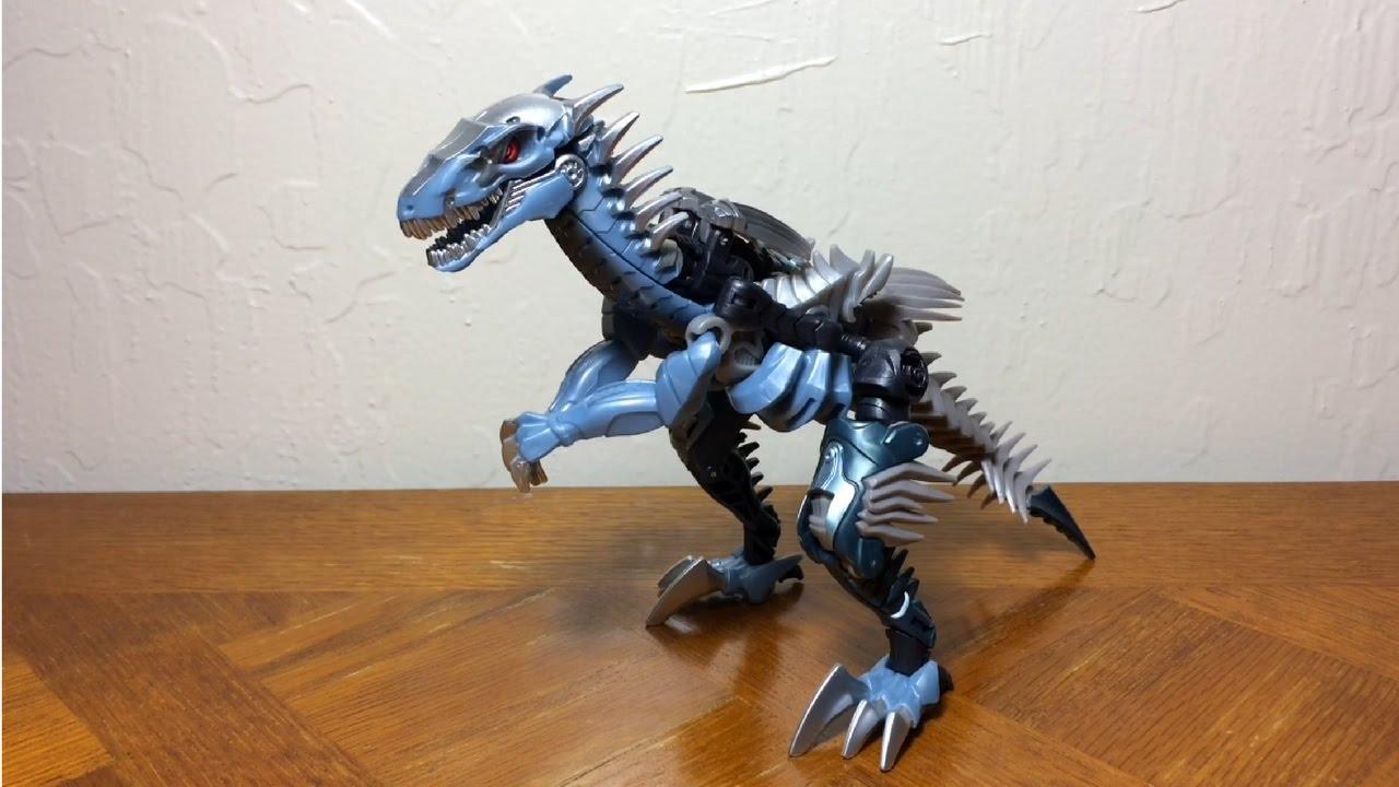 The Last Knight Premier Edition Deluxe Dinobot Slash Transformers