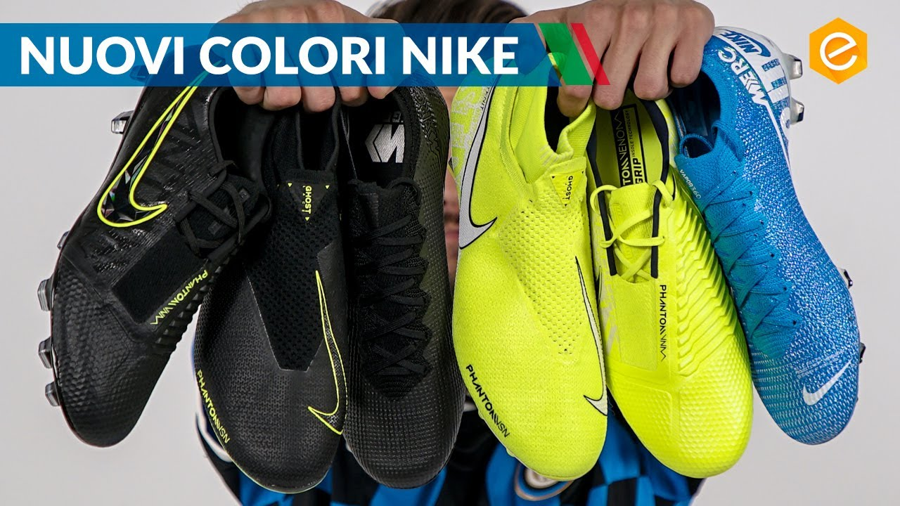 NIKE NEW LIGHTS & UNDER THE RADAR Nuovi colori per le scarpe
