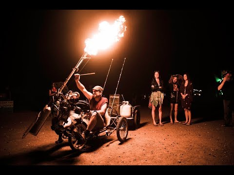 Jamie Janover : Drums + Tricycle + Pyrocussion = The RealmsMobile