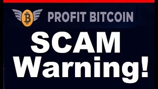 profit Bitcoin Review - MONEY LOSING SCAM (Warning)