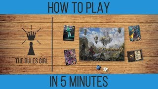 How to Play The Stonebound Saga in 5 Minutes - The Rules Girl