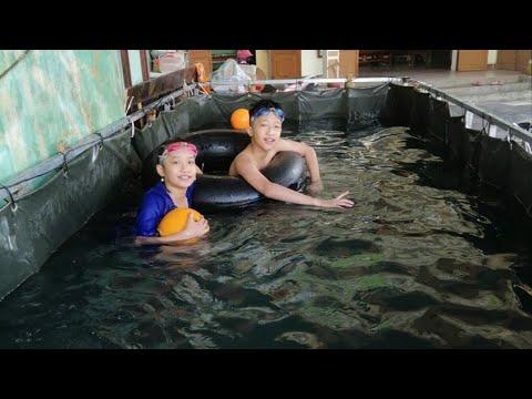 Cách tự làm bể bơi tại nhà chi phí thấp,Bể bơi bằng bạt