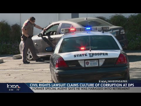 """Federal lawsuit: """"Culture of corruption"""" at Texas DPS"""