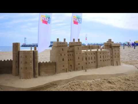 RIAS Windsor Castle sand castle