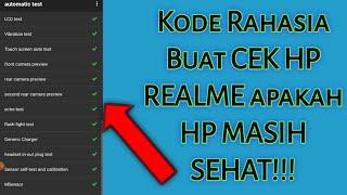 Cara Test Automatic HP Realme apakah masih bagus???