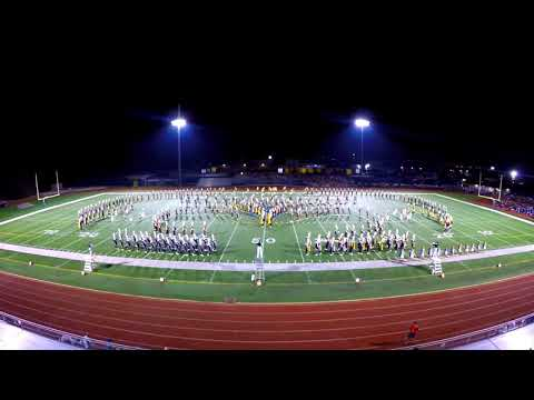 Blugold Marching Band - 9.23.2017 - Wheeling IL Full Show