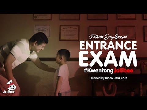 Kwentong Jollibee: Entrance Exam