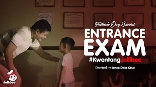 Kwentong Jollibee: Entrance Exam