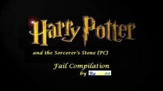 Harry Potter and the Sorcerer's Stone Fail Compilation (Pc game)
