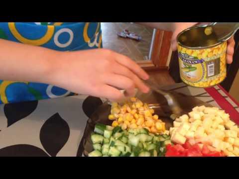 Салат с креветками рецепты с фото на Поварру 202