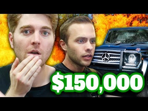 I DESTROYED MY BOYFRIEND'S G-WAGON!
