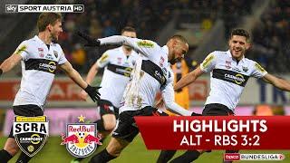 tipico Bundesliga, 21. Runde: SCR Altach - FC Red Bull Salzburg 3:2