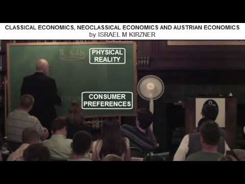Economic Theories by Professor Israel Kirzner