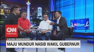 Gerindra: Tidak Ada Wagub DKI Baru Dalam Waktu Dekat #LayarDemokrasi