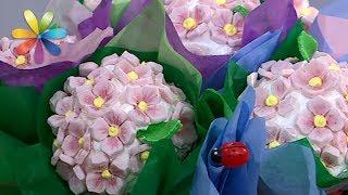 Букет из капкейков: съедобные цветы – Все буде добре. Выпуск 1026 от 30.05.17