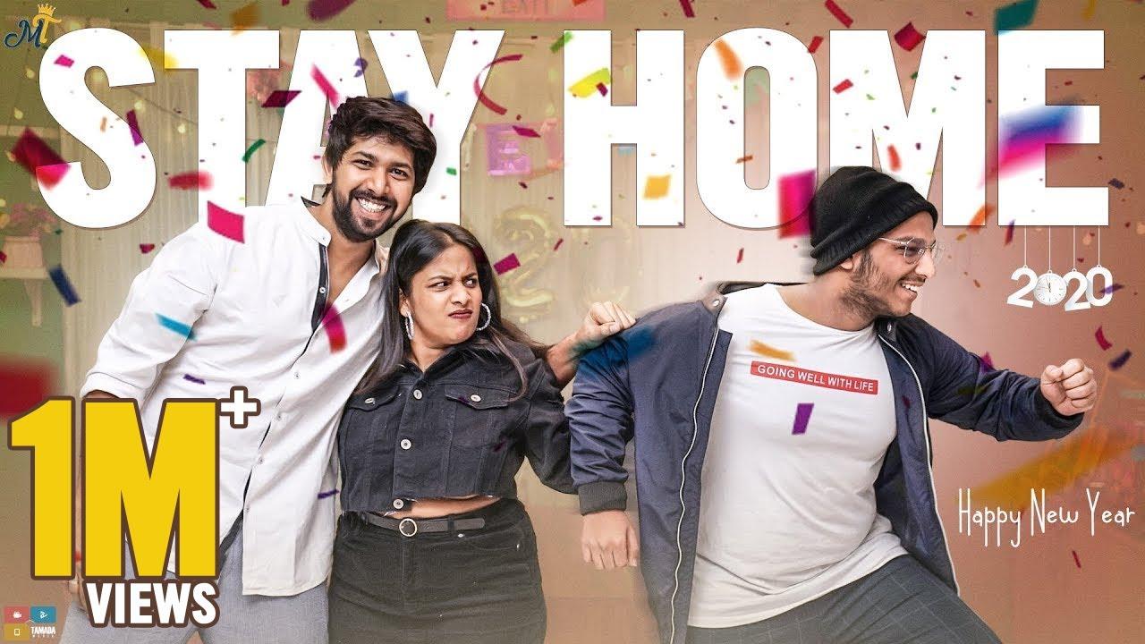 Stay Home – Happy New Year 2020    Mahathalli    Tamada Media
