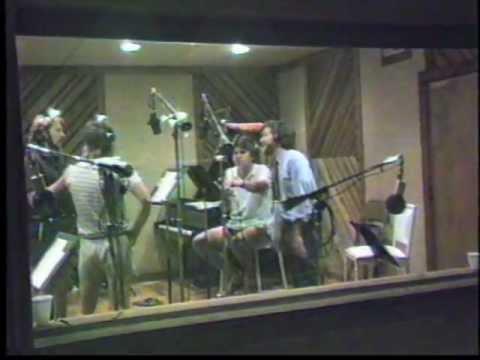 JAM jingle session for BBC Radio 1 (1984)