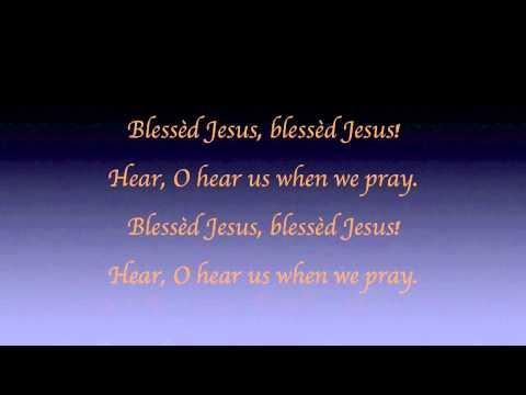 Savior, like a Shepherd Lead Us - Piano with Lyrics