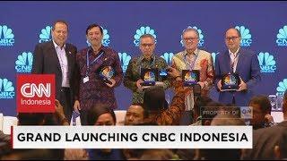 Bertukar Ide Gagasan Dalam Memajukan Ekonomi Indonesia di Grand Launching CNBC Indonesia