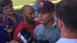 Mississippi State coach Andy Cannizaro on facing LSU in the Super Regional
