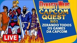 Dynasty Wars (1989) Seria esse o pai dos MUSOUS!? | Capcom Quest #044