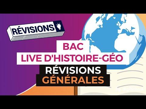 Bac 2017 - Révisions LIVE d'Histoire Géo : Révisions générales