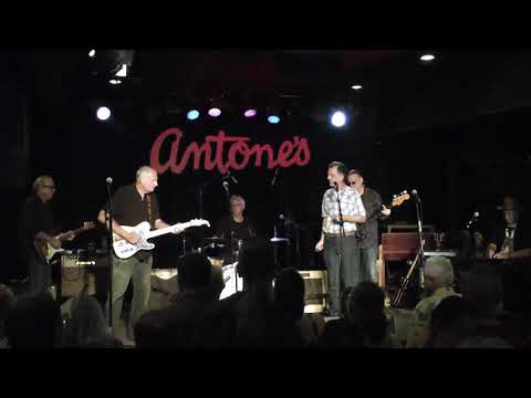 Casper Rawls And Friends At Antone's For The Omar Dykes Benefit