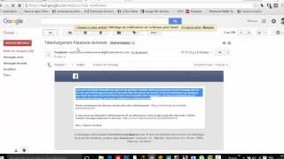 استرجــاع رسائل محذوفـة من فيس بوك 2016 -  FACEBOOK Récupérer des messages supprimés