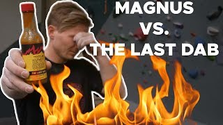 Magnus Midtbø takes on the HOT sauce gauntlet || Bouldering Bobat