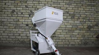 Штукатурная станция Novo Gen3 (сборка, запуск, видео обзор)(http://mix-trade.com - официальный сайт. Штукатурная станция Novo Gen 3 - компактный и мощный аппарат для смешивания..., 2016-10-29T12:23:27.000Z)