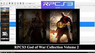 RPCS3 God of War Collection Volume 2