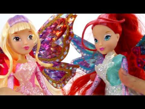 Winx Club - Новые куклы Winx Тайникс! | Распаковка новых игрушек для девочек все феи Винкс - Познавательные и прикольные видеоролики