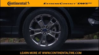 225//45ZR17 91W Continental ExtremeContact Sport Performance Radial Tire