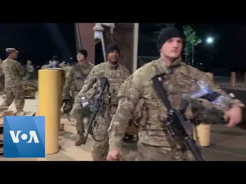 US Troops Deploy After Attack On US Embassy In Baghdad