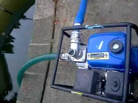 Water pump hook up