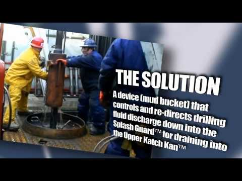 Drilling fluid containment system from Katch Kan