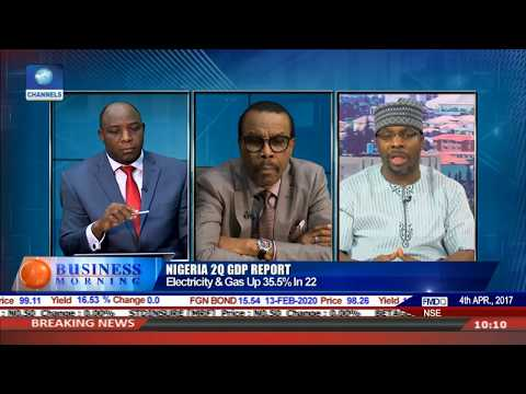 Examining Nigeria's 2Q GDP Report With NBS CEO,Bismarck Pt.2 |Business Morning|