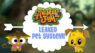 Animal Jam: Leaked Pet System!