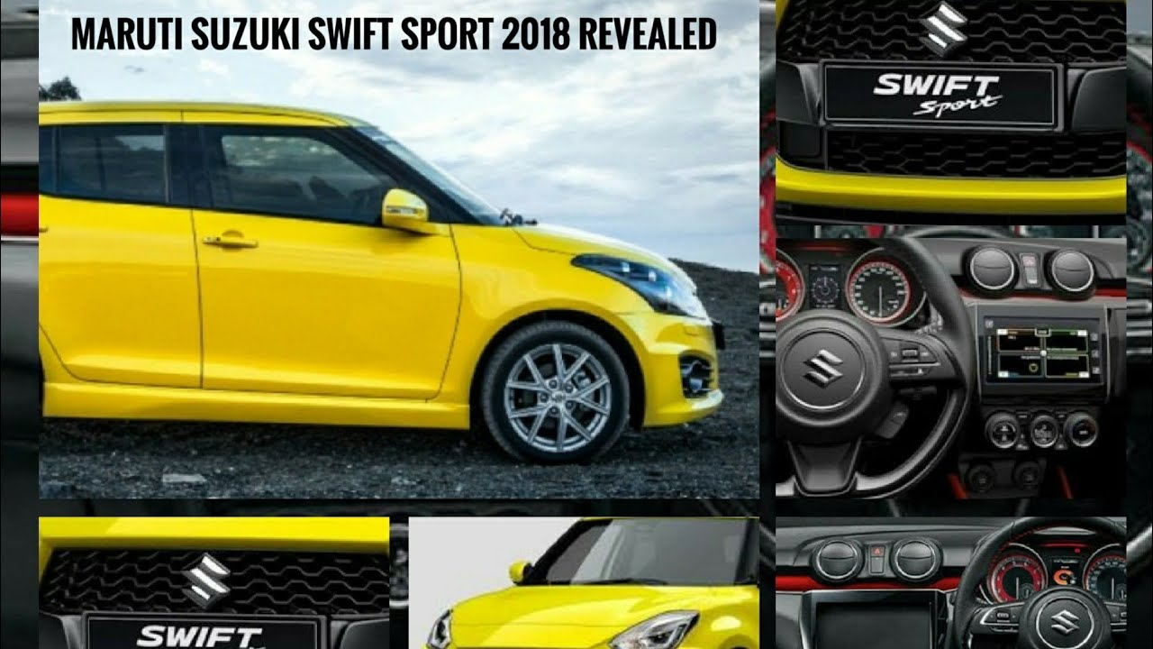 suzuki swift sport 2018 first look indepth review youtube. Black Bedroom Furniture Sets. Home Design Ideas
