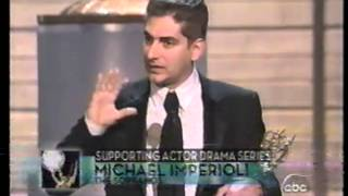 Michael Imperioli wins 2004 Emmy Award for Supporting Actor in a Drama Series