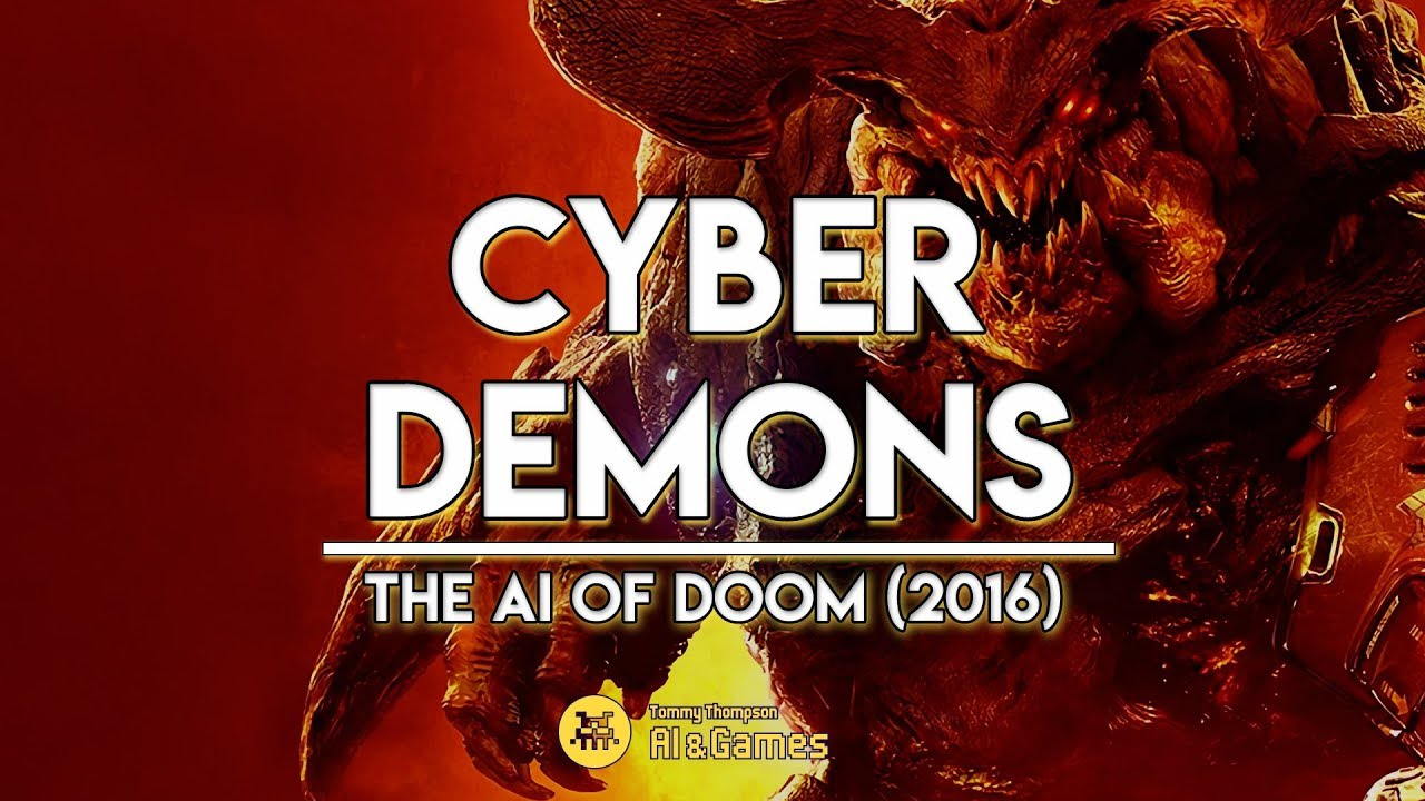 Gamasutra: Tommy Thompson's Blog - Cyber Demons   The AI of DOOM (2016)
