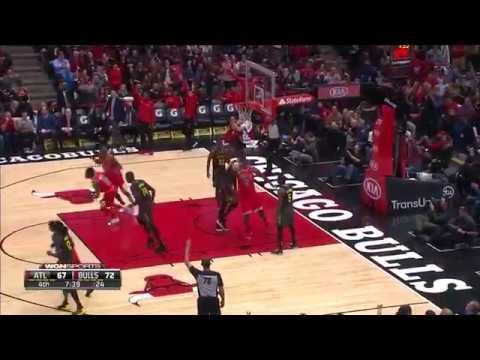 Bulls vs. Hawks - Double-doubles highlight video