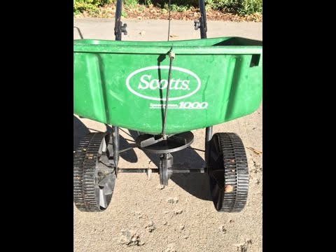 Scotts 1000 Broadcast Spreader Plus Other Types  - Lawn Equipment #1