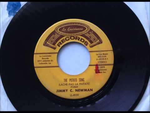 The Potato Song (Lâche pas la patate) , Jimmy C.  Newman , 1974 Vinyl 45RPM