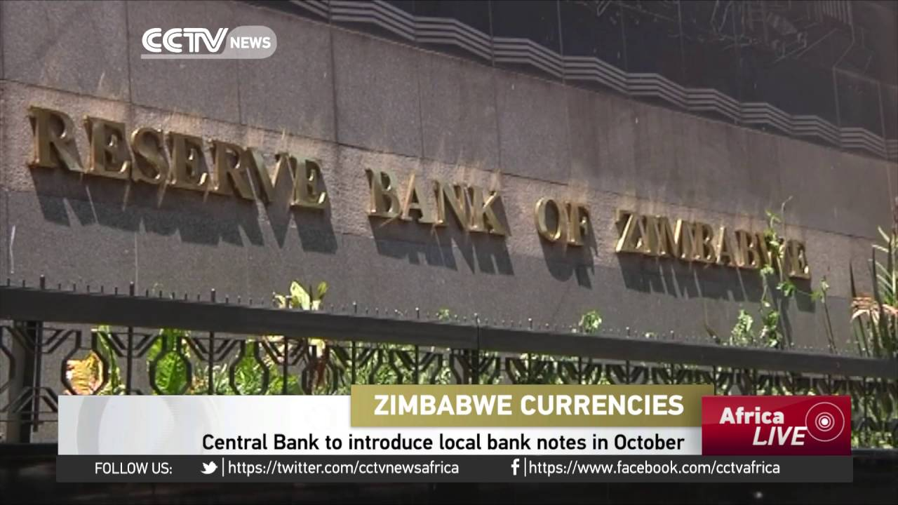 Zimbabwe S Central Bank To Introduce Local Notes In October