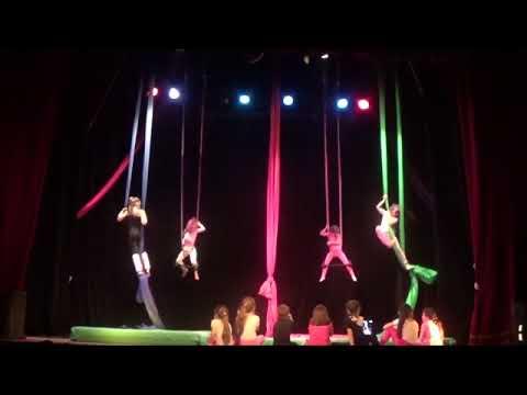 Las Medias de los Flamencos - Acrobacia en Tela y Trapecio Niños