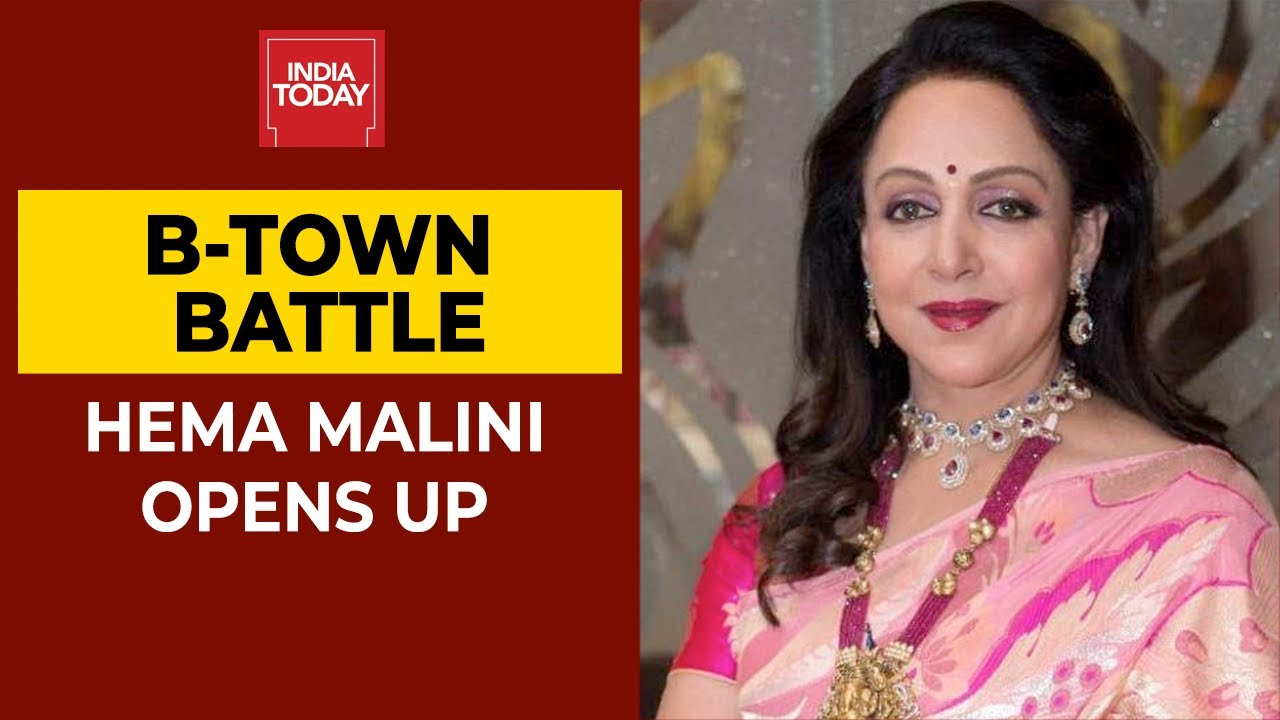 Drug Nexus In Bollywood Hema Malini Says There Is No Mafia In B Town India Today Exclusive Youtube